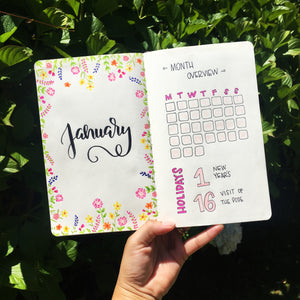 Learning Bullet Journaling
