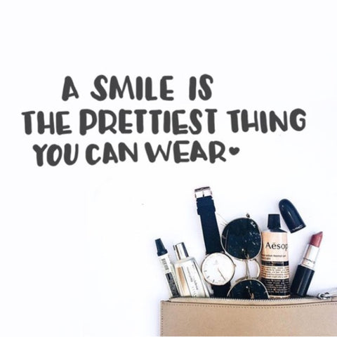 Inspirational Quote - Smile