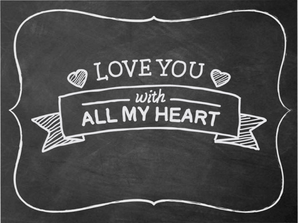 Valentine's Day Free Download CHalkboard