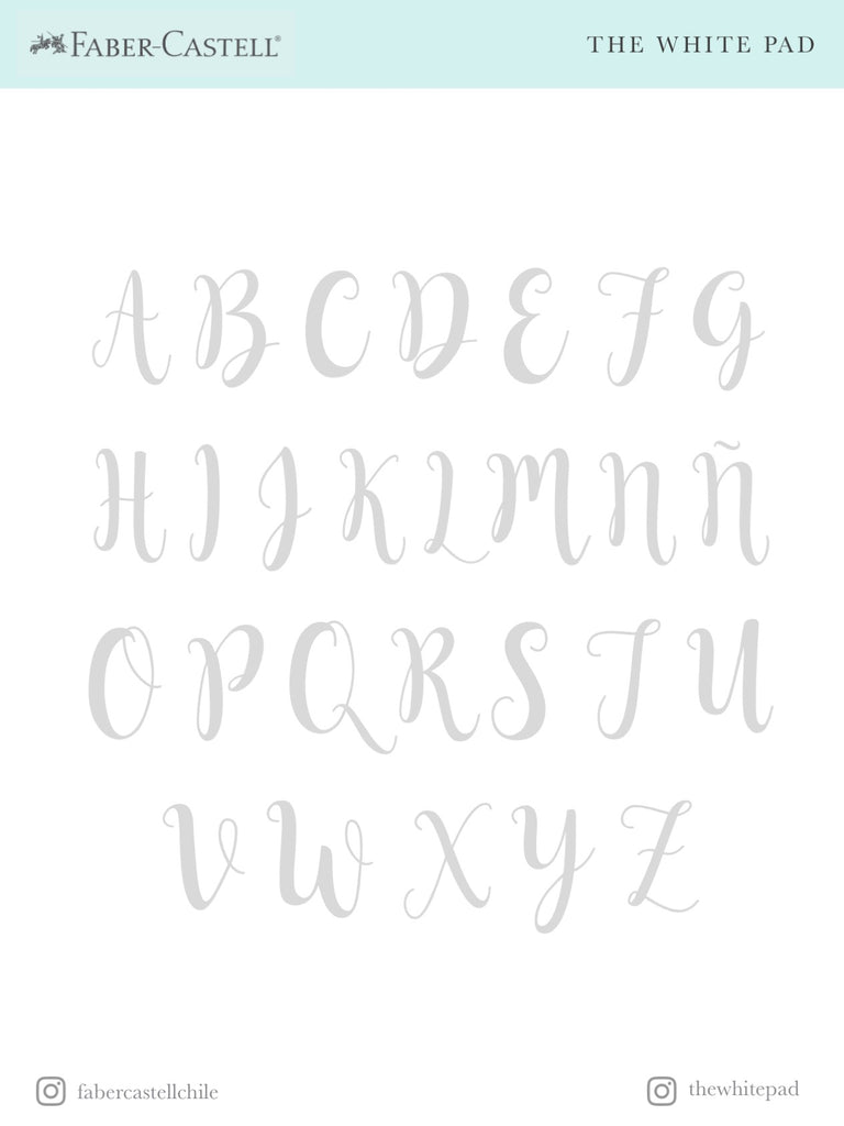Aprende Lettering con The White Pad
