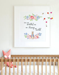"""Even the smallest one can change the world"" Wall Art"
