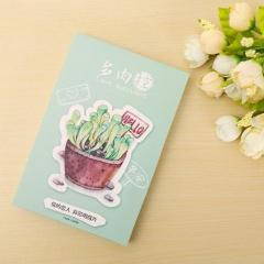 Cactus & Succulents Postcard Set, 30 units