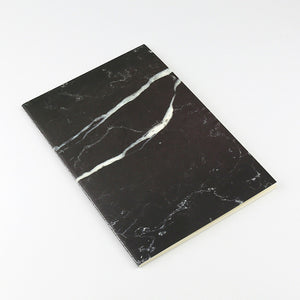 Slim Marble Notebook, Set of 4