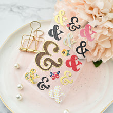 Ampersand Stickers, set of 3 pages
