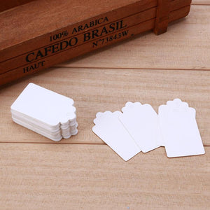 Black / White Chalk Labels, 100 units