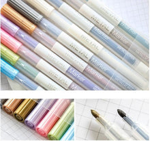 Rainbow Metallic Markers, set of 10