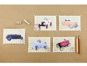 Iconic Ford Cars Stamp Postcard Set, 30 units