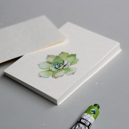 Watercolour Paper Postcards, 16 units