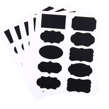 Blackboard Sticker Labels, 50 pieces