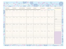 Floral Monthly Planner Pad, 20 units