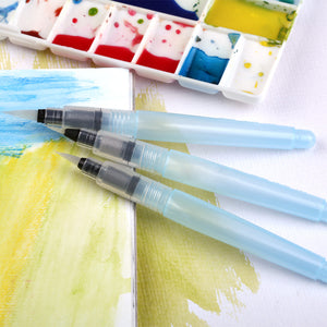 Water Brush Pens Pack of 3