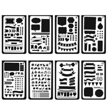 The Ultimate Pro Stencil set for Planners, 20 units