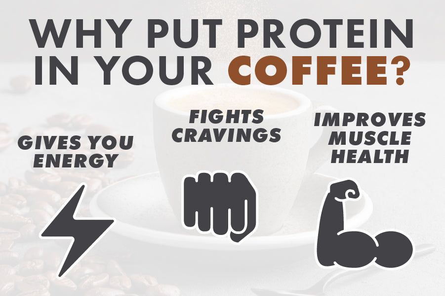 TRY ADDING OUR PROTEIN POWDERS TO YOUR MORNING COFFEE