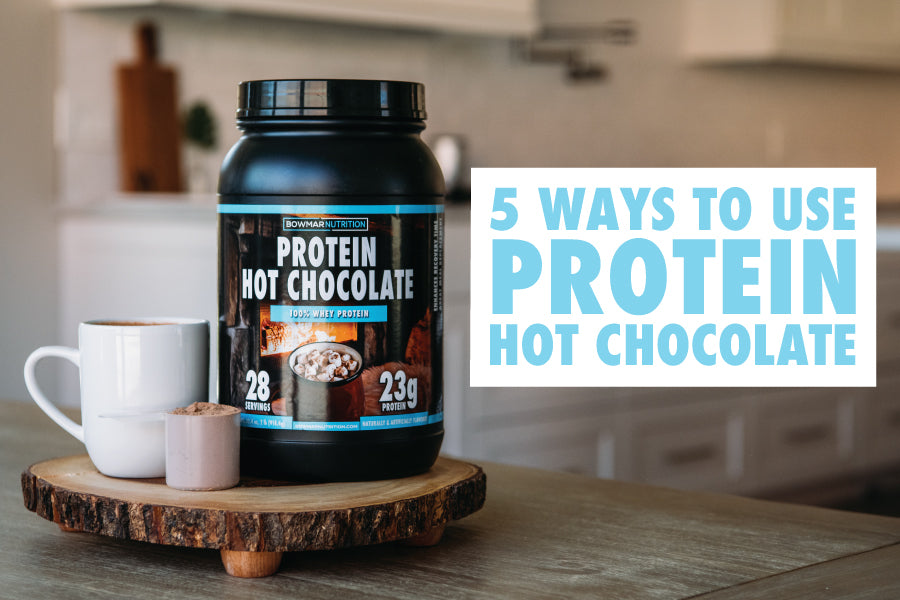Five ways to use Bowmar Nutrition's Protein Hot Chocolate: