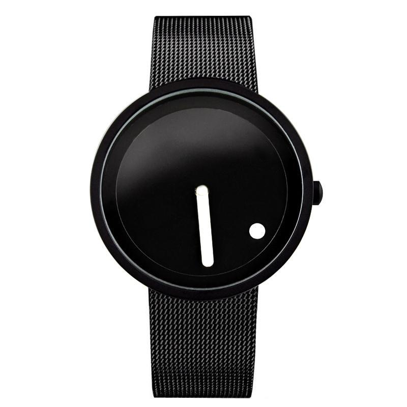 clock unique online watches store waterproof design men products creative futuristic fashion brand stylemakerz casual wristwatch quartz women new watch woonun
