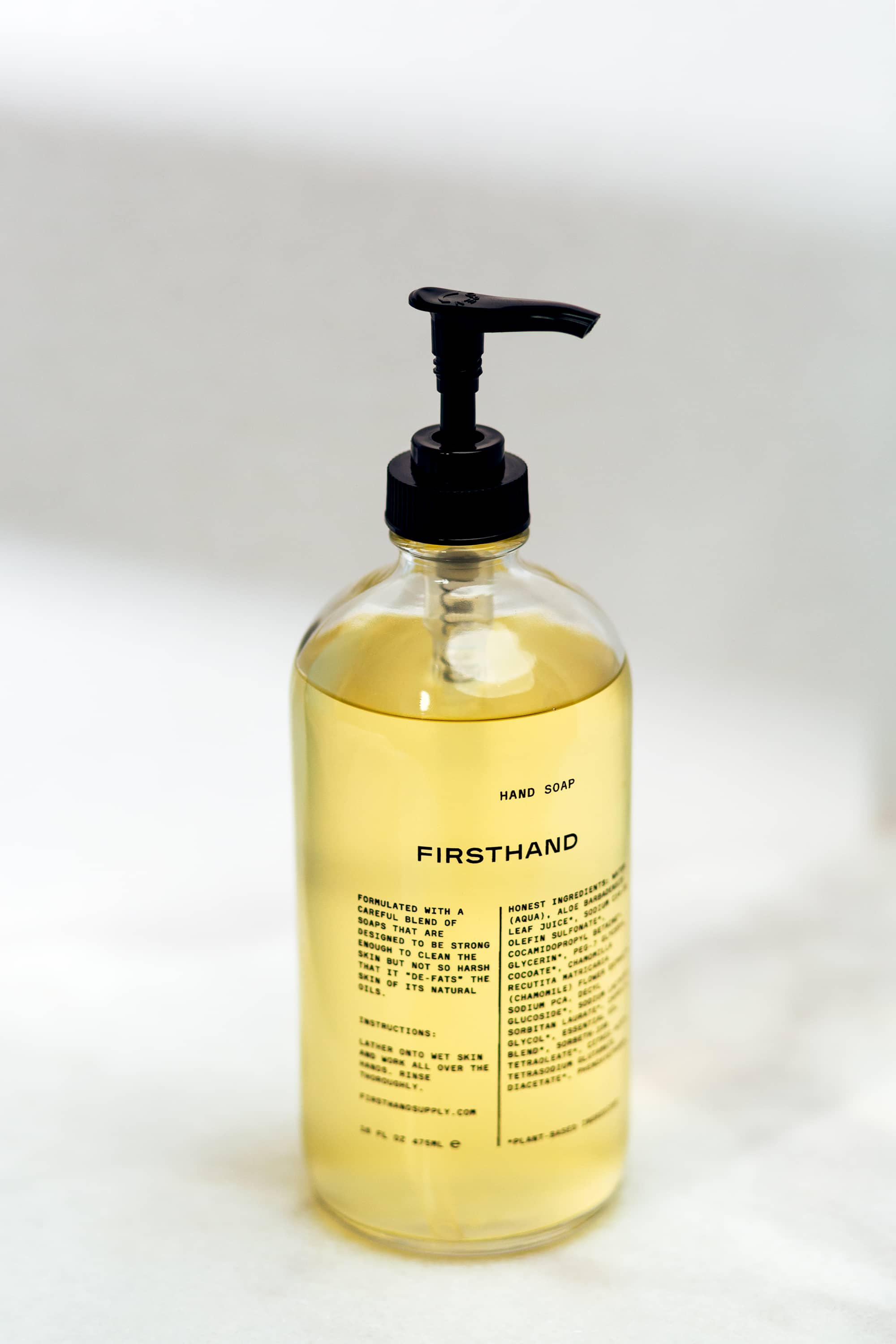 Liquid Hand Soap - 16oz.