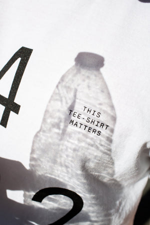 Firsthand x Upcycle 'This Tee-Shirt Matters' Recycled Crew