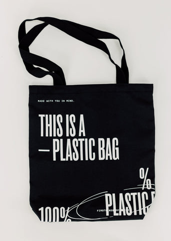 'This Is A Plastic Bag' Tote Bag