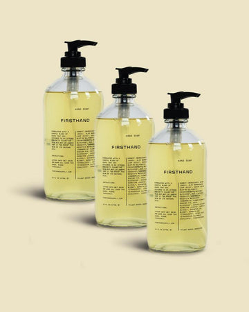 Liquid Hand Soap Set of 3