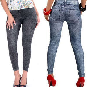 Slim Fitness Legging Denim Jeans, One Size - Beldewls