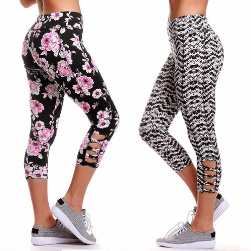 High Waist Sports Gym Yoga Leggings - Beldewls