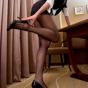 Pantyhose Long Stockings Thin 4 Colors - Beldewls