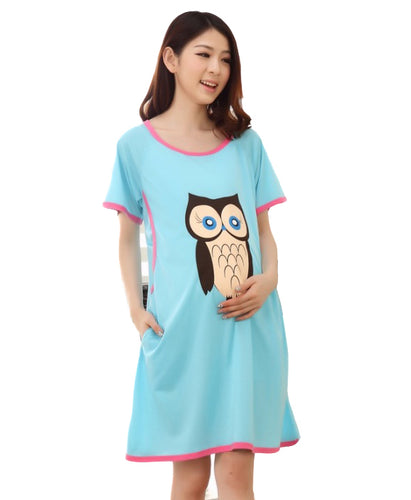 Pregnant Women Maternity Breastfeeding Dress - Beldewls