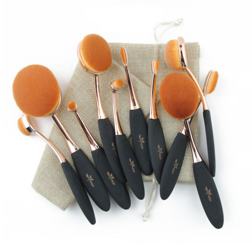 Professional Oval Makeup Brushes - Your Goods Central