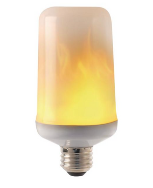 Flame LED Light Bulb 7-Watt Equivalent (E26)