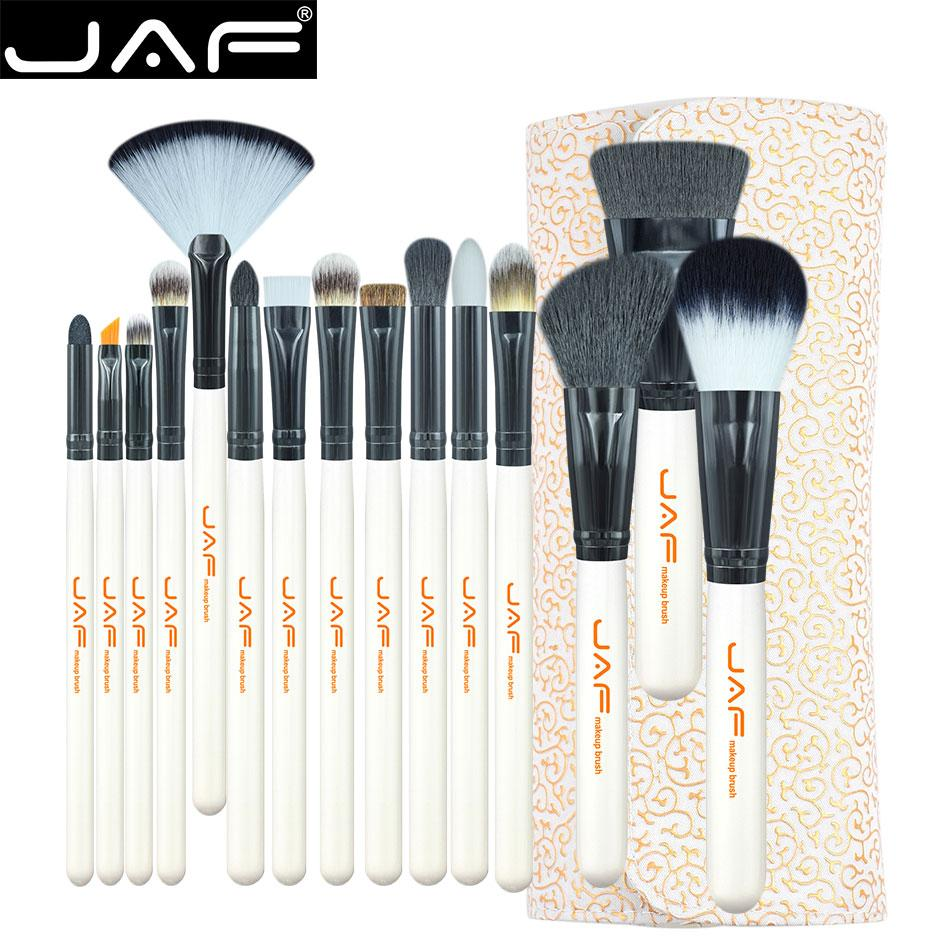 Super Soft Brush Set with PU Leather Case Holder