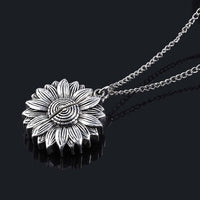 "Sunflower Necklace - ""You Are My Sunshine"""