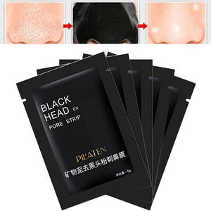 Facial Mask Face Care Blackhead Remover Charcoal facial with essential Mineral Cleanser - 5 pcs - Your Goods Central