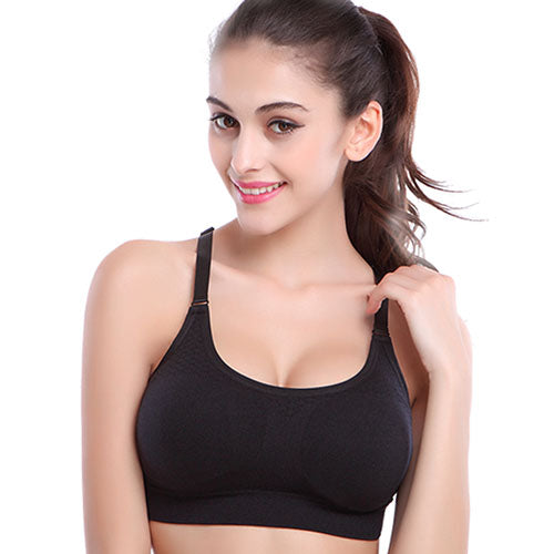 Stretch Breathable Wire-free Sports Padded Bra (Quick Dry) - Your Goods Central