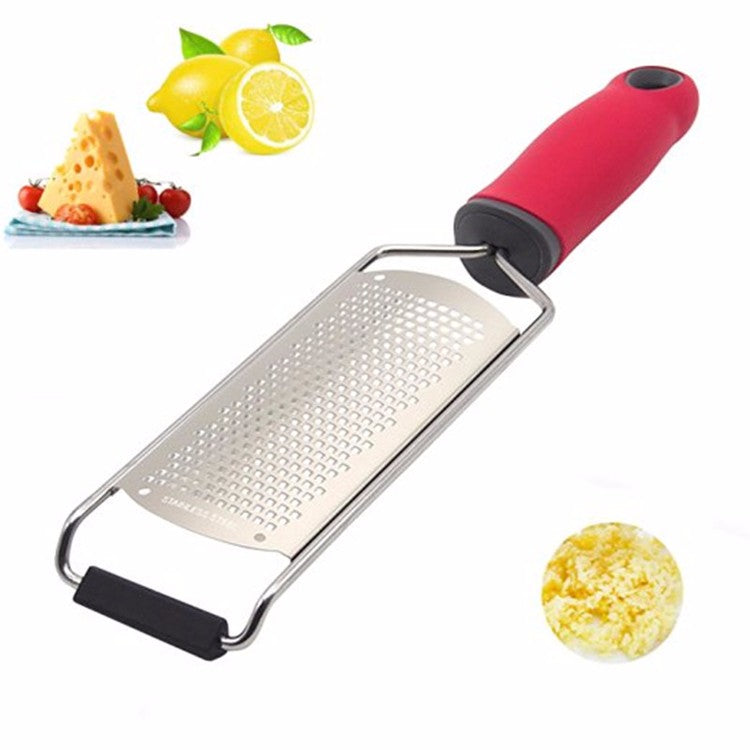 Stainless Steel Cheese Grater Lemon Zester Grater Chocolate Cheese Graters with Protective Cover - Your Goods Central