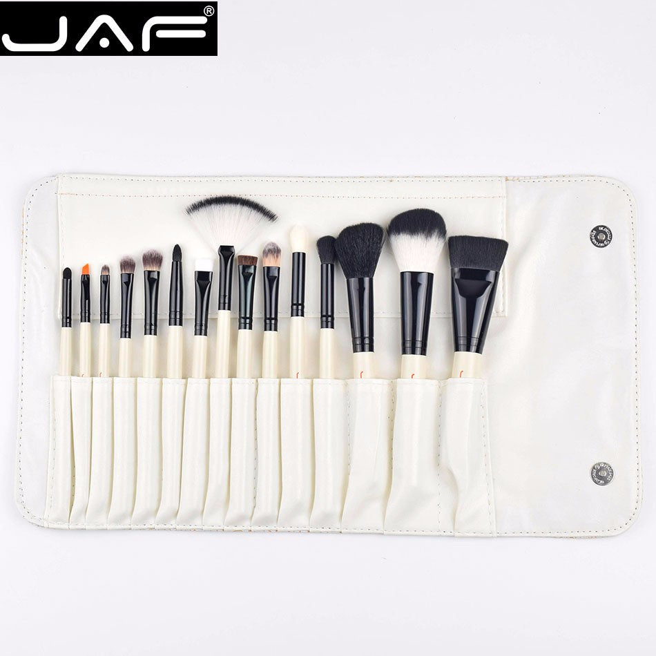 Makeup Brush Set Super Soft Hair with PU Leather Case Holder - Your Goods Central