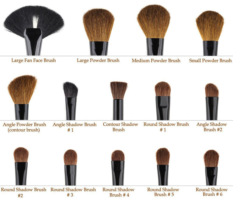 32 pcs/ Professional Makeup Brushes with Bag - Your Goods Central