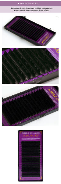 16 Rows of Mink individual Eyelash Extensions - Your Goods Central