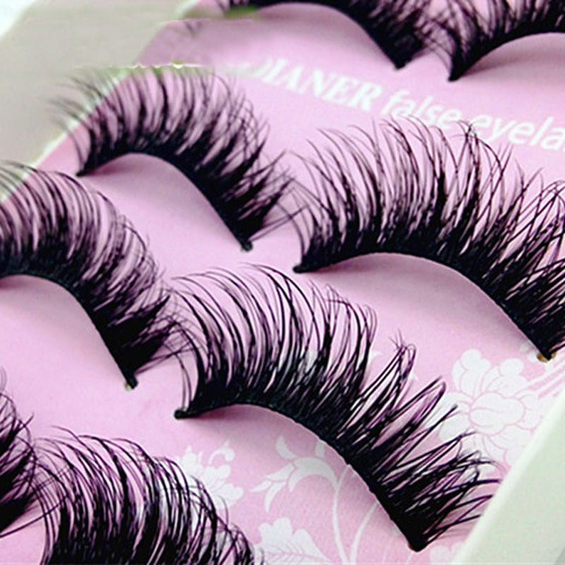 5Pair Thick Fake Eyelashes - Your Goods Central