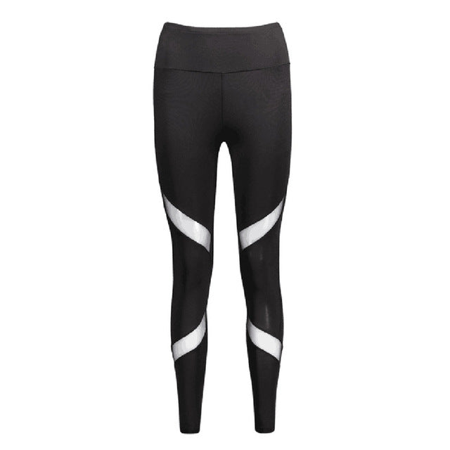 Net High Waist Yoga Pants - Your Goods Central