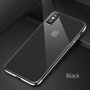 iPhone X 10 Ultra Thin Electroplated Hard Phone Case - Your Goods Central