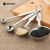 Stainless Steel Measuring Cup & Spoons - Your Goods Central
