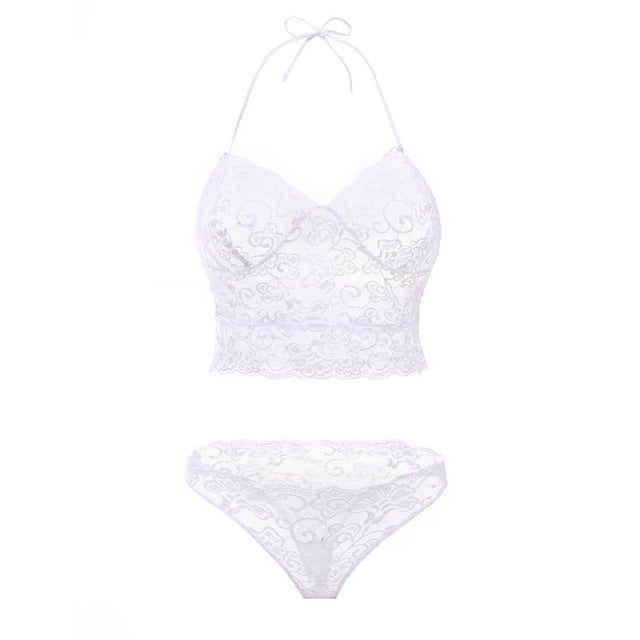 Sexy French  Lace Lingerie Bra and Panty Set - Your Goods Central