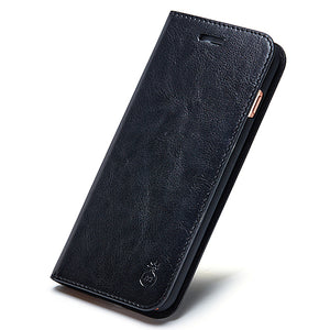 Samsung Galaxy Flip Leather Wallet Phone Case - Your Goods Central