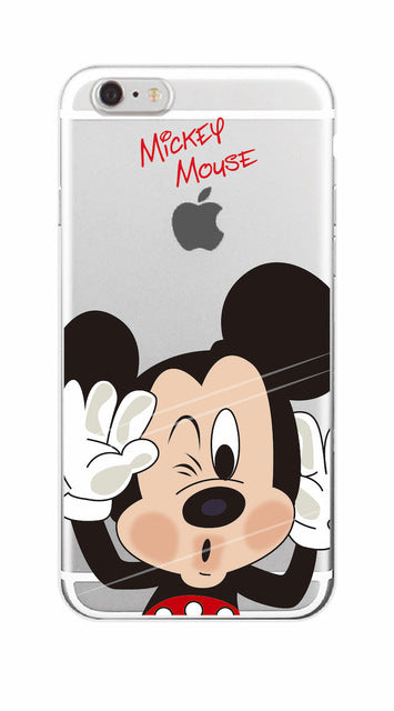 Samsung 2016 and earlier Funny Cartoon Soft Phone Case - Your Goods Central