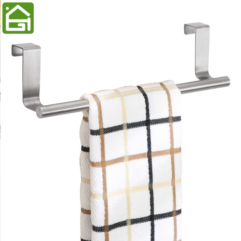 Stainless Steel Cabinet Door Towel Rack - Your Goods Central