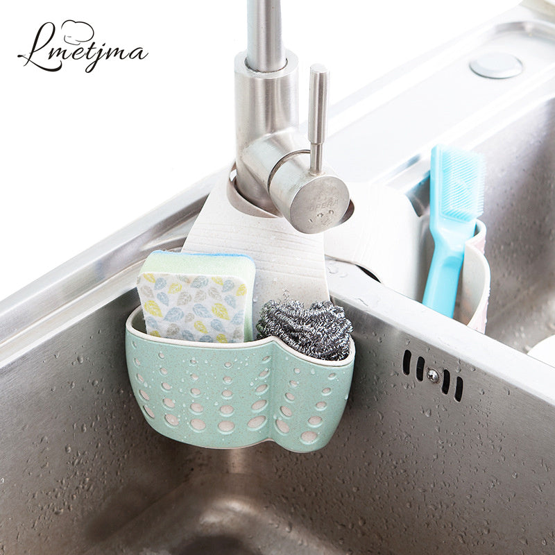 Kitchen Sponge or Wash Cloth Drain Holder/Basket - Your Goods Central