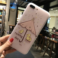 Cute Cartoon Soft Back Phone Case - Your Goods Central