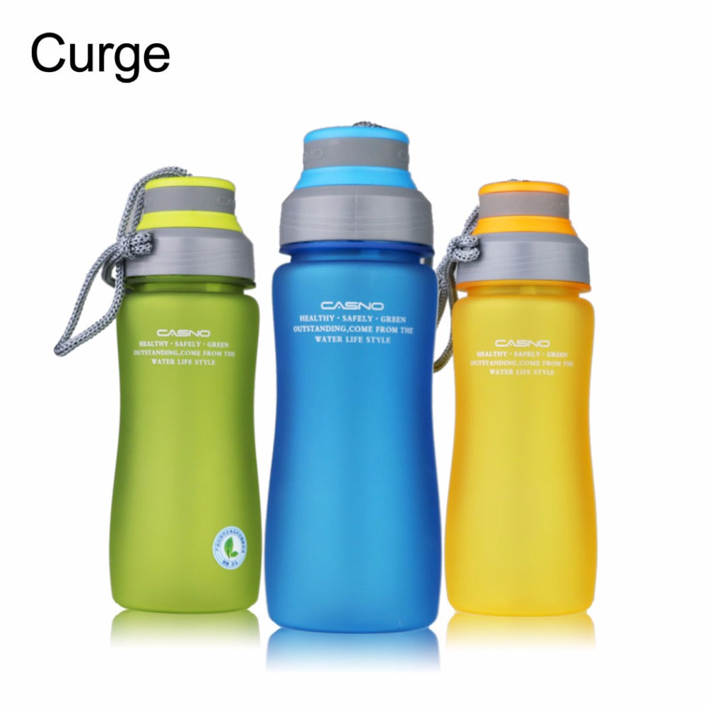 Sports PBA Free Plastic Water Bottle with Portable Rope and Tea Infuser - Your Goods Central