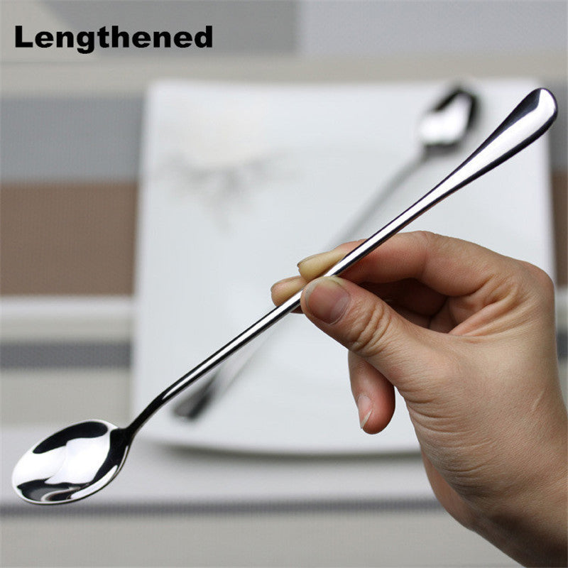 High-grade stainless steel Long spoon - Your Goods Central