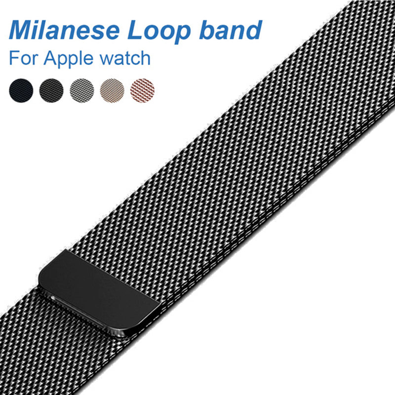 Milanese Loop Band for Apple Watch - Your Goods Central